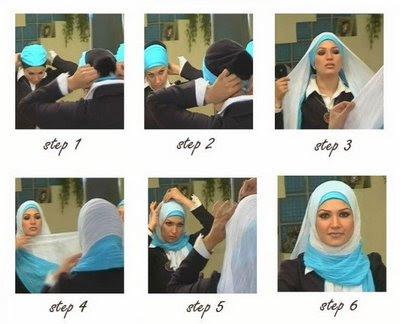 طرق رائعة للف الحجاب Hijab+shayla+with+underwrap
