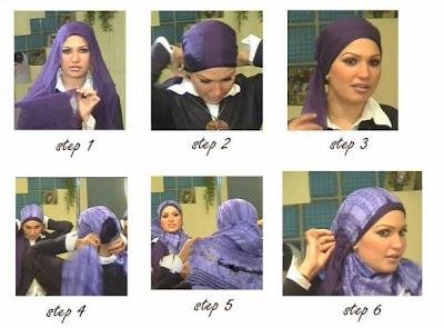 طرق رائعة للف الحجاب Hijab+with+two+thin+layers