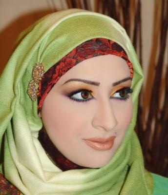 طرق رائعة للف الحجاب Simply+pretty