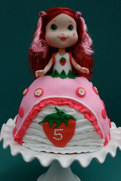 Miss Jones Devilish Desserts Making A Strawberry