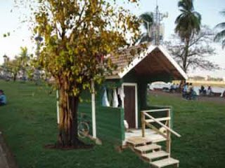 The Finnish sauna in Phnom Penh riverfront