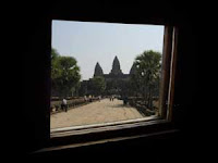 A truly unique sauna view on Angkor Temples!
