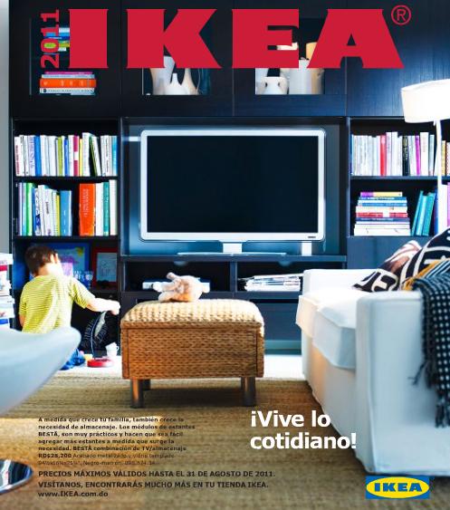 Nuevo Catalogo de Ikea 2011 para Santo Domingo, Republica Dominicana