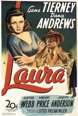 laura+preminger Película a recordar: Laura (1944).