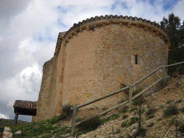 Fin de semana en Soria ermita de la Virgen del Valle en Muriel de la Fuente