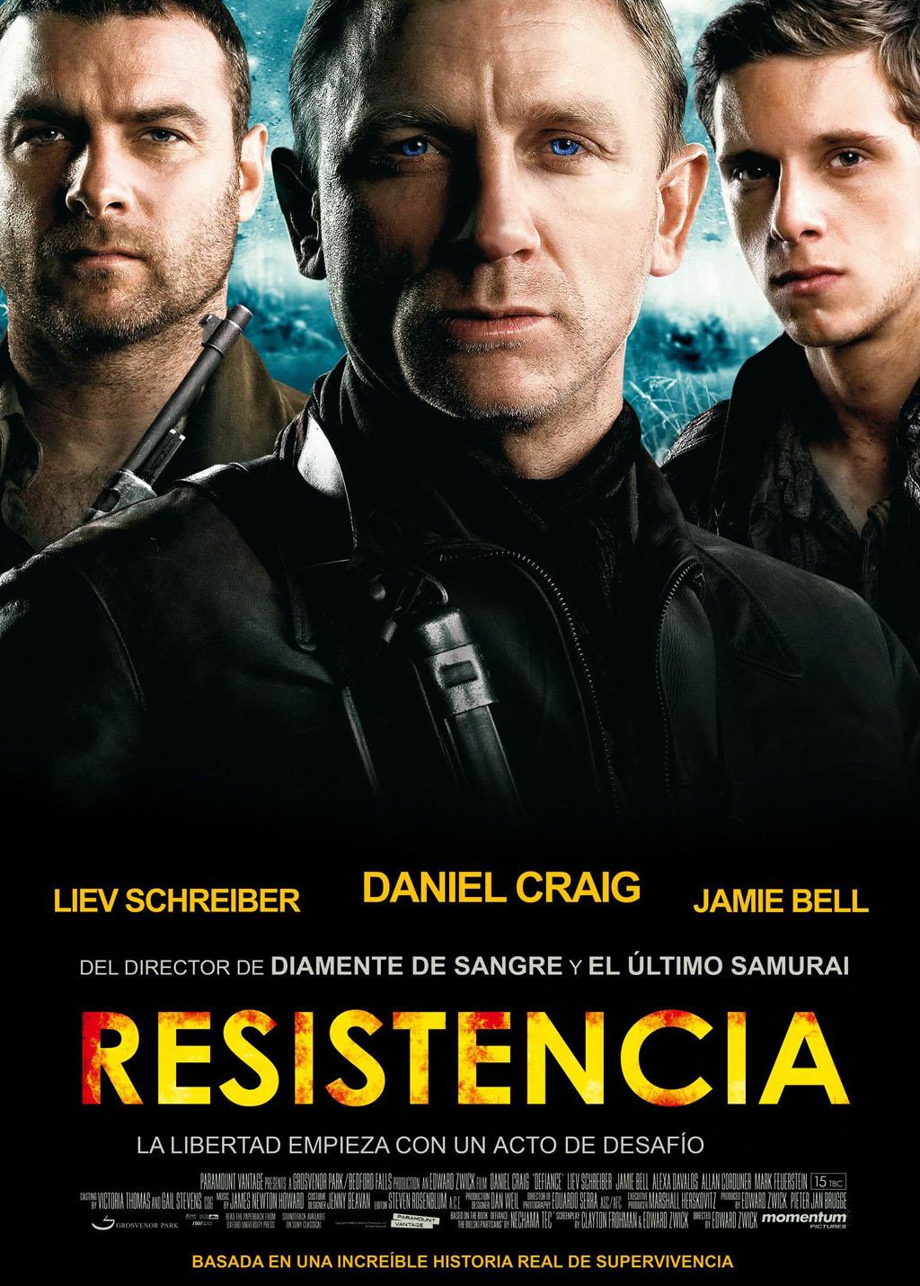 VISION ALTERNATIVA DEL CINE BELICO: RESISTENCIA (DEFIANCE)