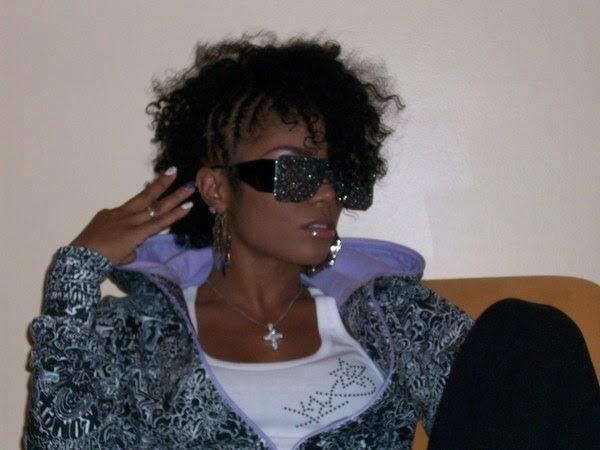 Ghetto Hair Styles: Ghetto Miss Afro: Swaggalicious Cornwrow Mohawk On Rasheeda