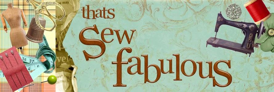 Sew Fabulous!