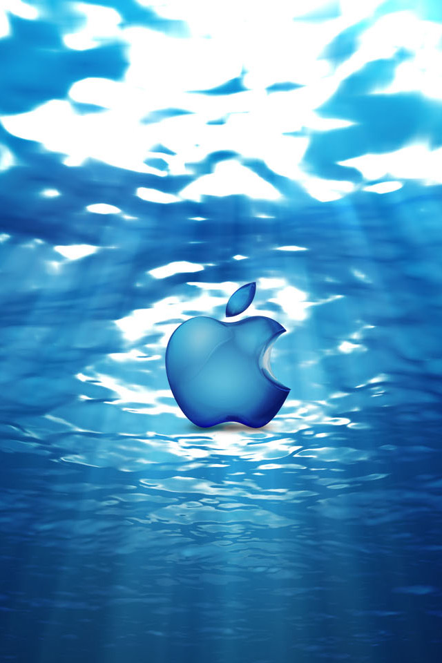Graphics » Vectors Collection: 11 beautiful iphone 4 apple logo wallpapers