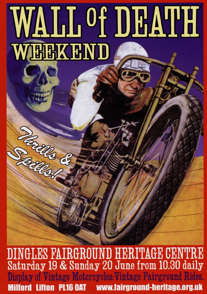Gary Margerum The Wall Of Death.: Wall of Death Weekend.