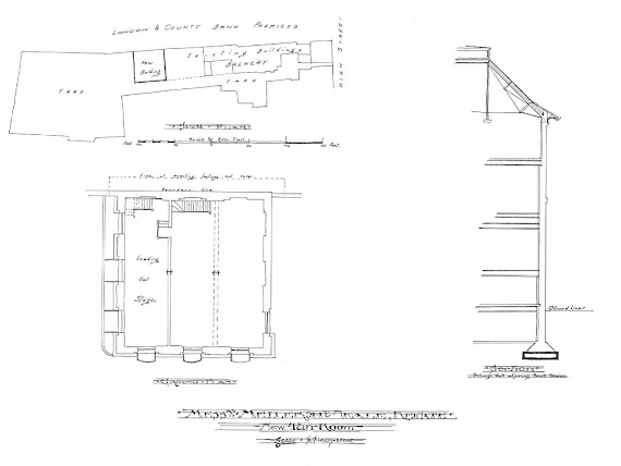 The New Tun Room Plans 1903