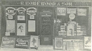 Another photo of Raymond Homewood's off-licence c1920-27