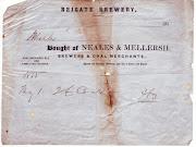 Neale & Mellersh invoice, 1855