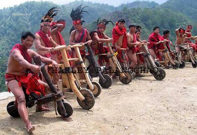 Amerindian Harley Davidson