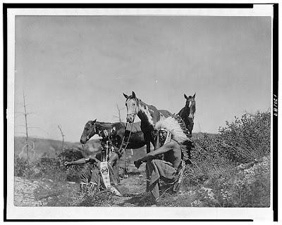 Cayuses y sus ponies