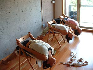 Yoga laboral peru for Sillas plegables para yoga