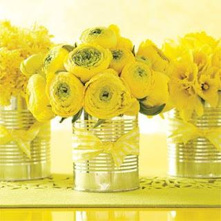8 Flores na lata!