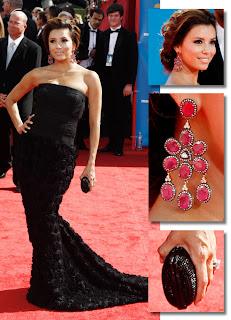 Eva Longoria em detalhes Emmy Awards 2010!