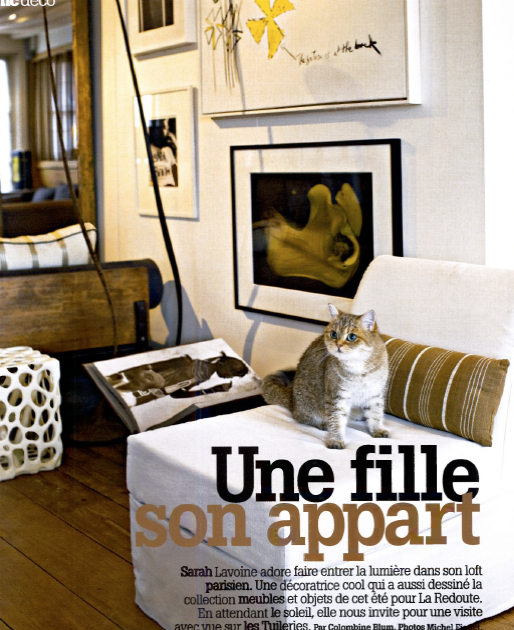 id es d co de paris et de californie un loft sous les toits de paris. Black Bedroom Furniture Sets. Home Design Ideas