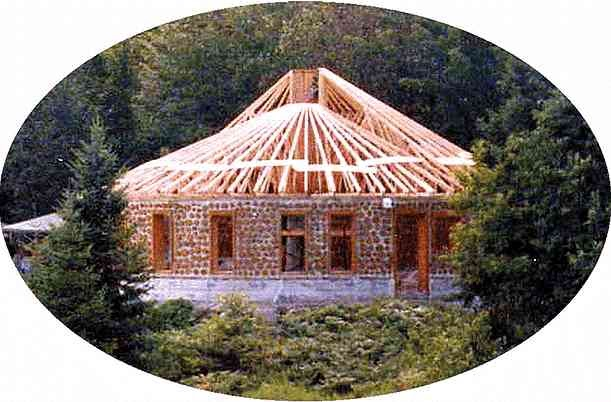 The cordstead cordwood construction for Cordwood home designs