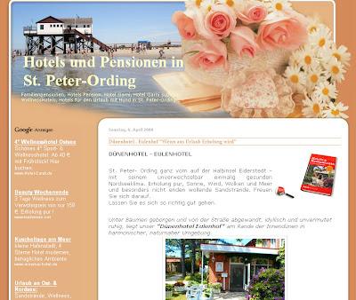 hotels und Pensionen an der Nordsee