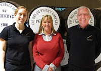 gillian macdonald, sian whitelock and keith tench of penderyn