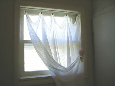 Wayside Treasures Gauze Curtains and a Gift