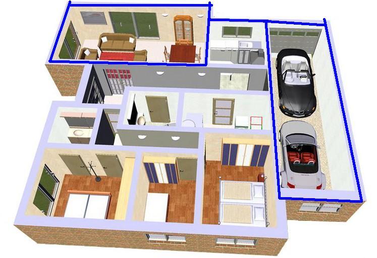 Casa de este alojamiento diseno de casas interiores planos - Diseno de casas interiores ...