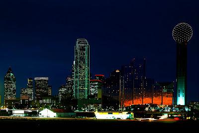 Dallas night skyline wallpaper the long goodbye - Skyline night wallpaper ...