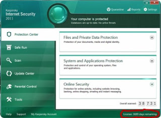 Kaspersky Internet Security 2011 + 10 Years License