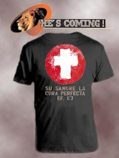 aeb0a761f5776 He´s coming camisetas cristianas diseños personalizados