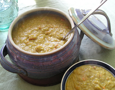 Pea Soup with Smoked Turkey or Ham