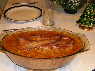 Classic Baked Beans with Pork