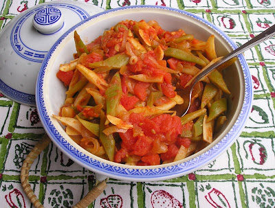 Green Beans in Tomato Sauce