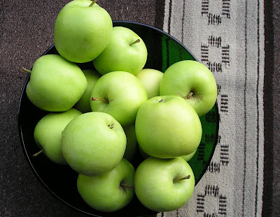 Lodi Apples, a relative of Yellow Transparent
