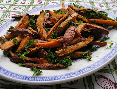 Roasted Sweet Potatoe Fries