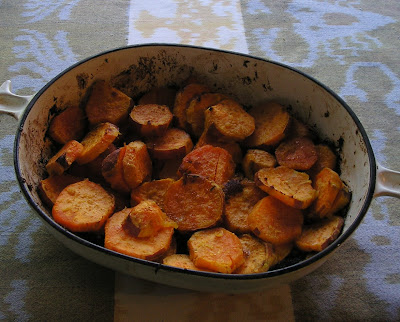 Lemon-Ginger Sweet Potatoes