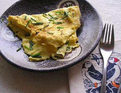 Indian Runner Duck Egg Omelet