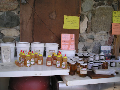 Meeting Place Organic Farm Honey and Apple Butter