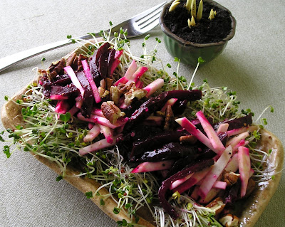 Celeriac and Beet Salad