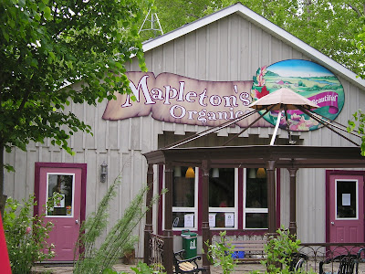 Mapleton Organic Ice Cream