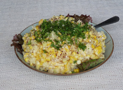 Mexican Flavoured Corn and Potato Salad