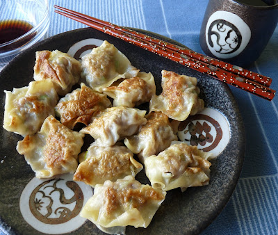 Pork and Jerusalem Artichoke Wontons