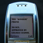 "The new ""kosher"" phone. Don't leave home without it."