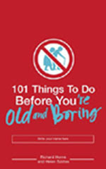 101 things to do before you're old and boring - Great book!