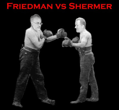 Friedman vs Shermer-2