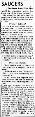 US Officers Report Seeing Flying Disks (B)- The Los Angeles Times 8-30-1949