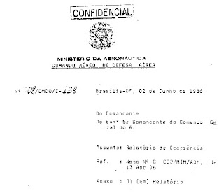 Brazilian Military Document