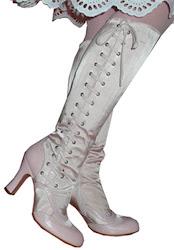 Victorian Corset Boots