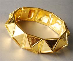 Kenneth Jay Lane Geometric Cuff